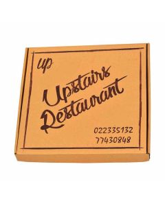 Brown Pizza Box Manufacturer