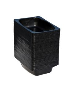 Food Container Black (500 ml)